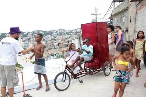 Biblioteca-triciclo percorre morros do RJ e leva livros para crianças carentes | Litteris | Scoop.it
