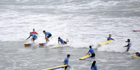 Biarritz : les écoles de surf prennent-elles trop de place ? | Voyages et Tourisme | Scoop.it