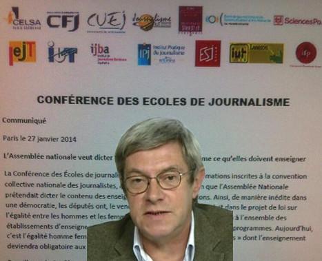 Projet de loi égalité hommes-femmes: les écoles de journalisme s'insurgent | Journalisme | Scoop.it