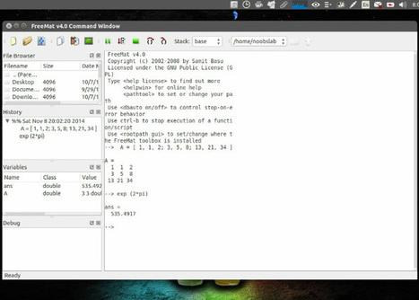 Las 5 mejores alternativas a Matlab para Linux | Sobre TIC y docencia | Scoop.it