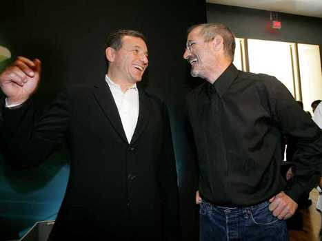 Disney's Bob Iger Reminisces About Deal-Making With Steve Jobs | Digital-News on Scoop.it today | Scoop.it