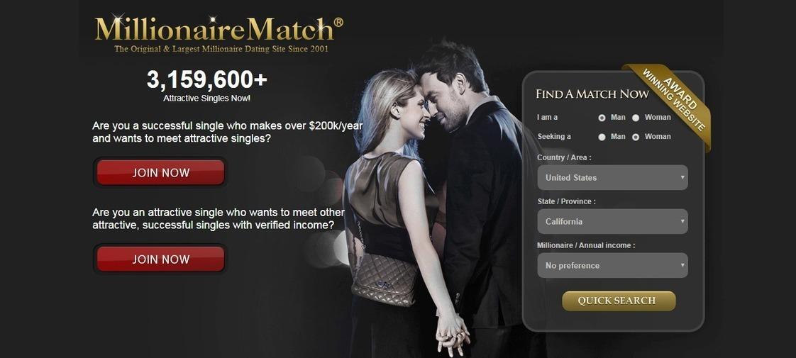 Millionaire dating sites uk reviews