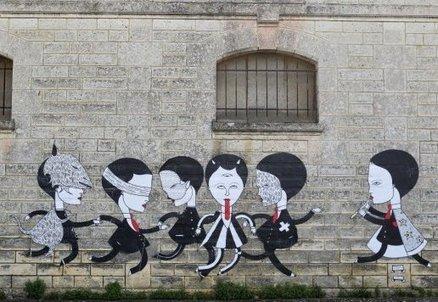 Un Chevalier à la reconquête  des murs d'Angoulême [PHOTOS] | Made in IJBA | Scoop.it