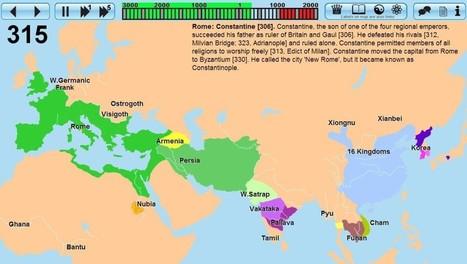 Primeros 4000 años de la historia de la humanidad en mapa interactivo | Recursos Educativos para ESO, Geografía e Historia | Scoop.it