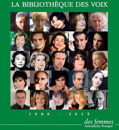 La Bibliothèque des voix désormais disponible en streaming | La voix dans toutes ses dimensions | Scoop.it