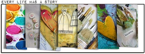 """""""Every Life Has a Story!"""" - {Every Life Has a Story} - Art JournalConversion... 