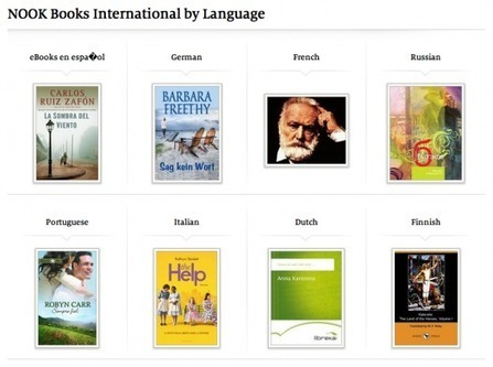 How to find foreign language books in the Nook Store - Ebook Friendly   Ebook and Publishing   Scoop.it