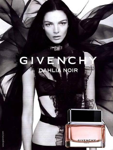 Publicité du parfum Dahlia Noir de Hubert (de) Givenchy | Publicités et parfum | Scoop.it