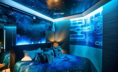 This Star Trek Themed Hotel Room Is Better Than a Room On The Enterprise | Geek On | Scoop.it