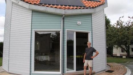 Habitat écolo. Une maison bois qui tourne avec le soleil au Fuilet (49) | My STI2D projets | Scoop.it