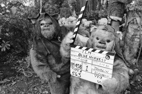 "Check Out These Unseen Pictures From The Set Of ""Return Of The Jedi"" 