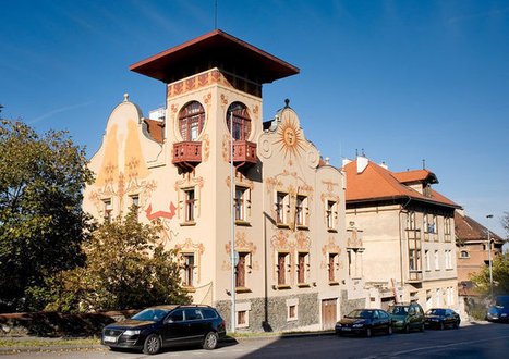 A Czech Mansion Reflects Art Nouveau Extravagance | Media monitoring | Scoop.it