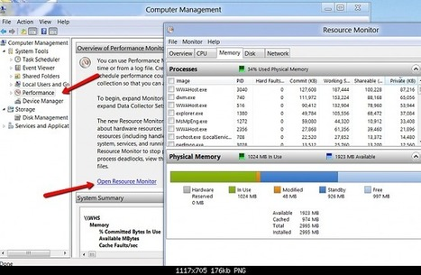 Windows 8, find the Resource Monitor | analytics and sql | Scoop.it