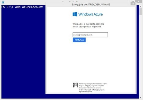Modna para – Windows Azure i PowerShell - Premier Field Engineers - blog polskich inżynierów Microsoft - Site Home - TechNet Blogs | Windows Powershell podstawy i zastosowanie | Scoop.it