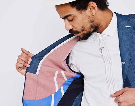 Junya Watanabe COMME des GARÇONS MAN – Chambray Jacket   COMME des   Scoop.it