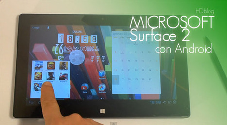 Microsoft Surface 2 Tablet con Android | Laptop Batteries Tech Tips | Scoop.it