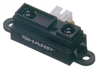 Sharp GP2Y0A21YK0F IR Range Sensor - 10cm to 80cm - RobotShop | TPE 1S1 2013-2014 | Scoop.it