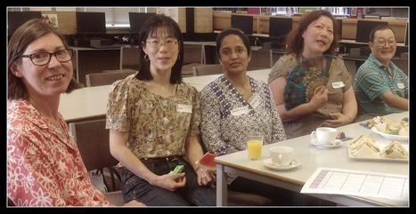 Welcoming our parent volunteers to the library - afternoon tea | SchoolLibrariesTeacherLibrarians | Scoop.it