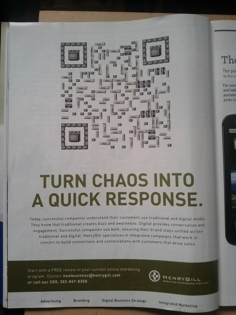11 dubious uses of QR codes | Social Media Optimization &  Search Engine Optimization | Scoop.it
