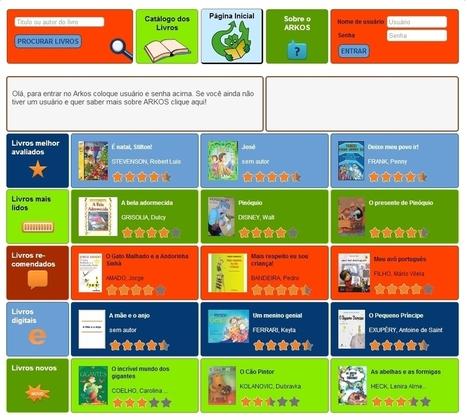 Arkos: projeto digital inovador de incentivo à leitura - Arkos - Trama Comunicação | Incentivo à Leitura em Bibliotecas Escolares | Scoop.it