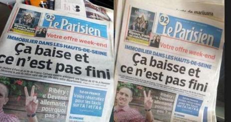 Beaucoup de bruit... pour une fausse Une du Parisien | Les médias face à leur destin | Scoop.it
