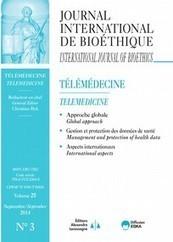 Telemedicine -Journal International de Bioéthique | Global Health and well-being | Scoop.it