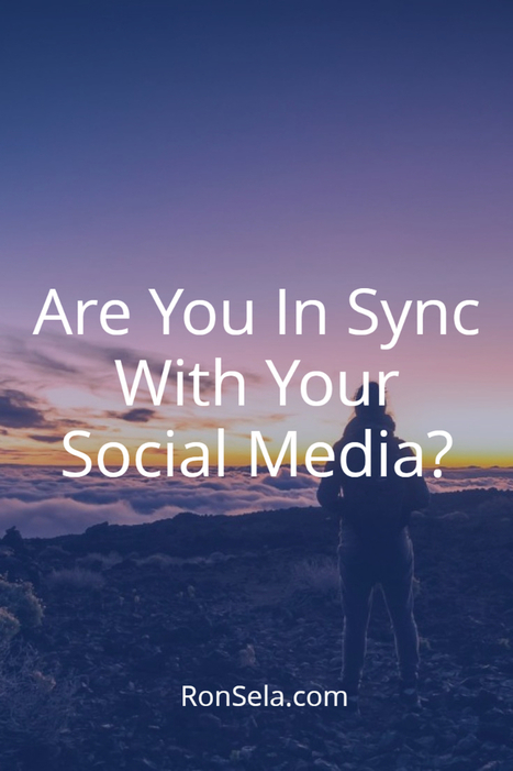 Are You In Sync With Your Social Media? | Social Media | Scoop.it