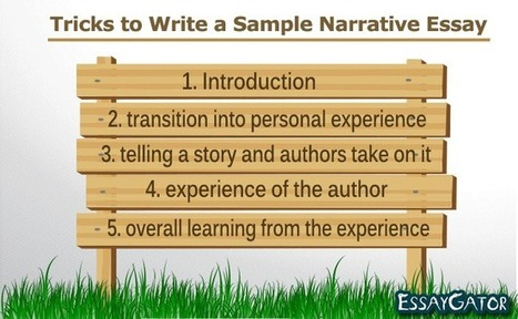 Tricks to Write a Sample Narrative Essay | Academic Writing Service | Scoop.it