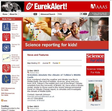 Learning Never Stops: 5 Great Science Websites For Kids That You May Not Have Seen | Edtech PK-12 | Scoop.it