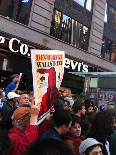 Occupy Wall Street: Photo Of The Day - Occupy Times Square | Poly Ticks | Scoop.it