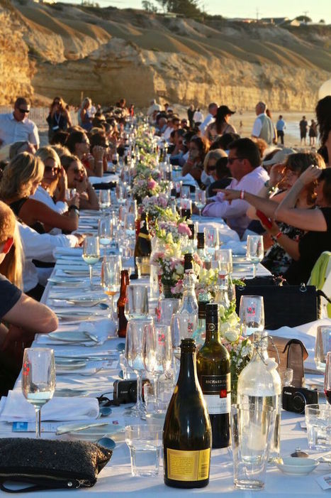 A Long Table Dinner On The Sand Is Back | Adelaide Scenes | Scoop.it