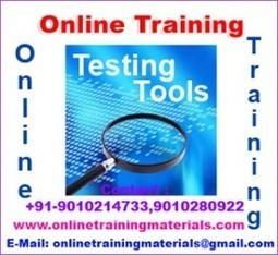 Testing Tools online training institute in Ameerpet, Testing Tools Online Training Institute from Hyderabad India.   Online Training Materials   Online Training   Scoop.it