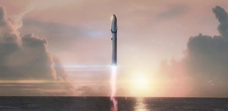 SpaceX's Mars plans call for massive 42-engine reusable rocket | SpaceNews.com | The NewSpace Daily | Scoop.it