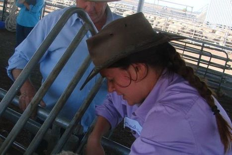 Budding jackaroos and jillaroos gain practical experience for agriculture caree   Think Fencing   Scoop.it