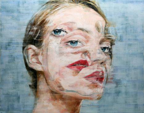 Harding Meyer's 2014 Paintings #art #painting #portraiture #surreal #eyes #oil | Luby Art | Scoop.it
