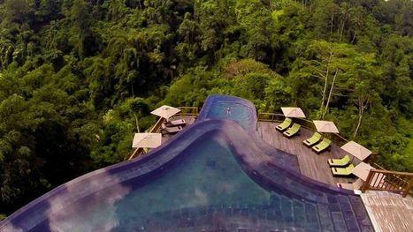 Bali: un hôtel au cœur de la forêt tropicale - Le Figaro | Vivez Bali | Scoop.it