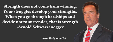 Facebook Cover Image - Arnold Schwarzenegger Quotes - TheQuotes.Net | Facebook Cover Photos | Scoop.it