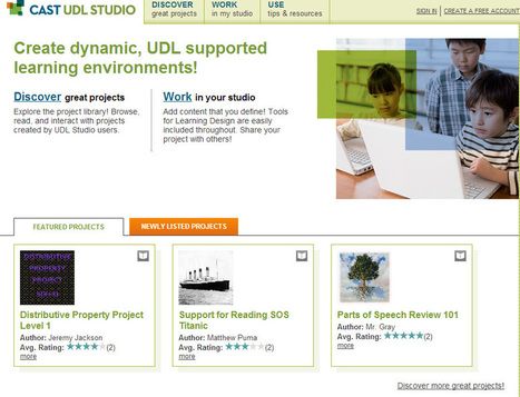 Design your Universal Design for Learning project using UDL Studio free | Universal Design for Learning and Curriculum | Scoop.it