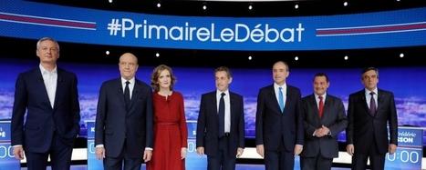 Baromètre e-réputation : primaire de la droite et du centre en France | E-réputation et identité numérique | Scoop.it