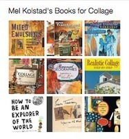 New on Pinterest: Books about collage curated by Mel Kolstad | Library as Incubator Project | Pinterest - Libraries | Scoop.it