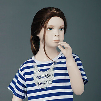 Silky Straight High Quality Synthetic Auburn Children's Hair Wig -WigSuperDeal.com | kids wigs | Scoop.it