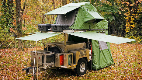 A Tiny Pop-up Trailer Hiding All Your Camping Needs | News we like | Scoop.it