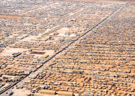 "Refugee camps are the ""cities of TOMORROW"", says aid expert 