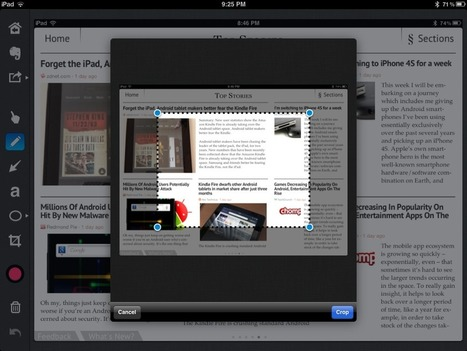 Web research on the iPad using Evernote and Skitch (how-to) | ZDNet | Collaborative Action Research: iPad Trials | Scoop.it