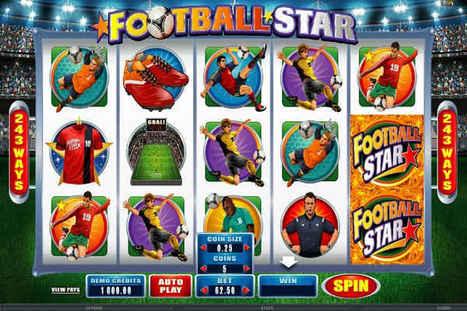 Football Star | Ένα από τα καλύτερα online φρουτάκια | ellinika Online Casino | Scoop.it
