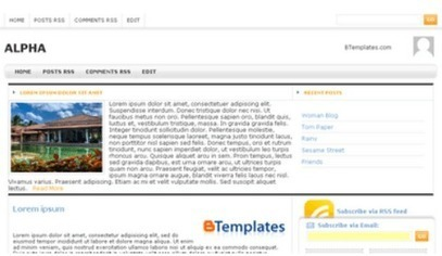 7 Best Blogger Templates Free Download 2014 and 13 - TutHow.com | Cricket - Live Streaming, Videos, | Scoop.it