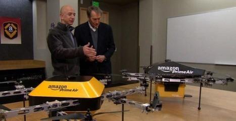 Amazon Prime Air, et si la livraison par drone devenait une réalité ? | Buzz Actu - Le Blog Info de PetitBuzz .com | Scoop.it