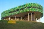 The Bilbao Arena's Green Lizard-Like Facade Defends Against the Spanish Sun | Bilbao | Scoop.it