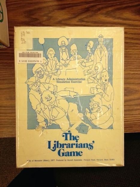Librarianship: The Role-Playing Game | Random cool stuff about libraries | Scoop.it