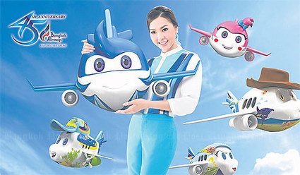 Bangkok Air puts faith in cartoon mascots | Bangkok Post: business | Thailand Business News | Scoop.it